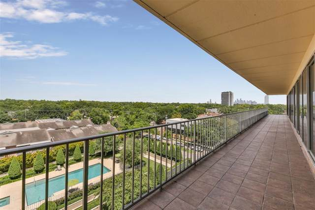 2200 Willowick Road 6GH, Houston, TX 77027 (MLS #16304015) :: The Bly Team