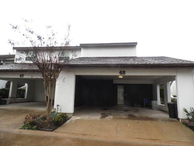 7655 S Braeswood Boulevard #48, Houston, TX 77071 (MLS #16501444) :: Bay Area Elite Properties
