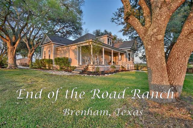 9977 Tegeler Road, Brenham, TX 77833 (MLS #16700202) :: Green Residential