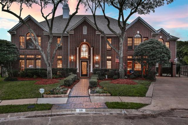 16 Fosters Court, Sugar Land, TX 77479 (MLS #16716203) :: The Bly Team