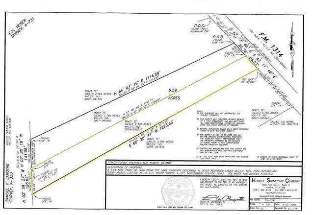 T.B.A. Fm 1314 Road, Conroe, TX 77302 (MLS #17017318) :: NewHomePrograms.com LLC
