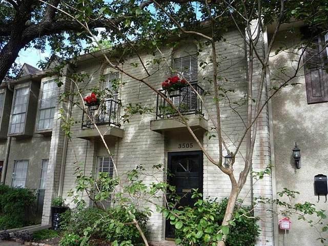 3505 Stanford Street, Houston, TX 77006 (MLS #17492375) :: Green Residential