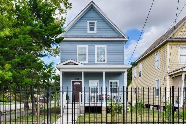 1103 Brooks Street, Houston, TX 77009 (MLS #17506958) :: Caskey Realty