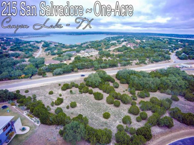 215 San Salvadore, Canyon Lake, TX 78133 (MLS #17757507) :: Grayson-Patton Team