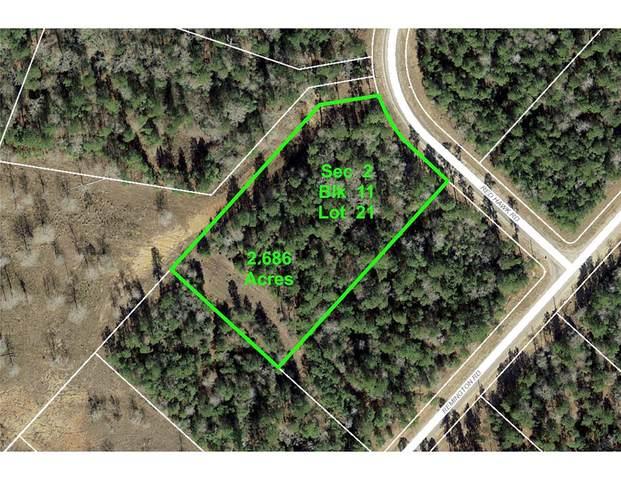 2-11-21 Red Hawk Road, Huntsville, TX 77340 (MLS #18086802) :: Ellison Real Estate Team