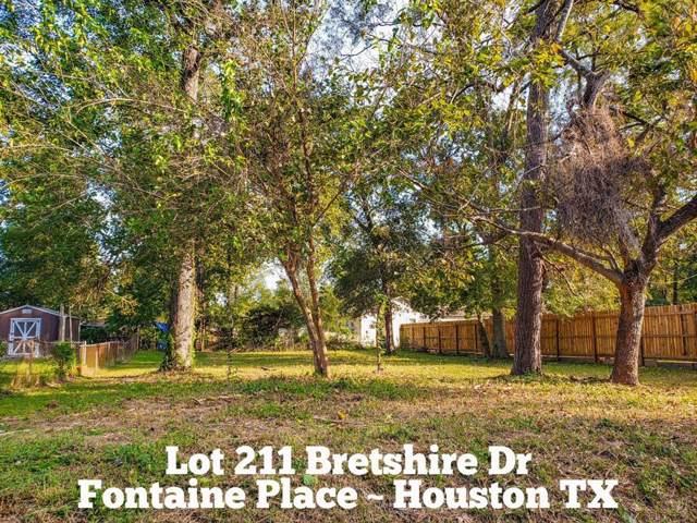 Lot 211 Bretshire Drive, Houston, TX 77016 (MLS #18611784) :: The Heyl Group at Keller Williams