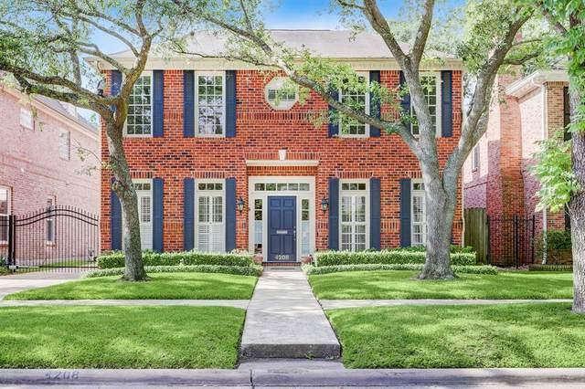 4208 Oberlin, West University Place, TX 77005 (MLS #18642646) :: Caskey Realty