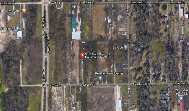 3318 Paul Quinn Street, Houston, TX 77091 (MLS #18777167) :: Connect Realty