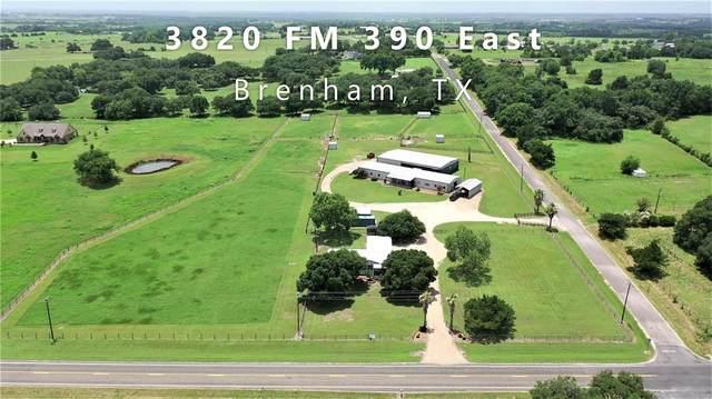 3820 Fm 390 E, Brenham, TX 77833 (MLS #18842258) :: Texas Home Shop Realty
