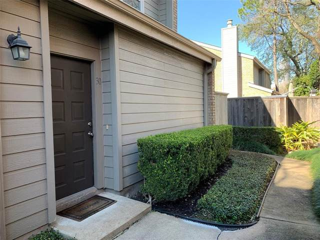 2601 Augusta Drive #30, Houston, TX 77057 (MLS #19067133) :: Rachel Lee Realtor