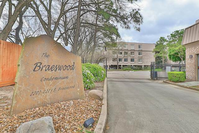 2207 S Braeswood Boulevard 43I, Houston, TX 77030 (MLS #19181844) :: The SOLD by George Team