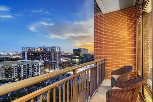 2207 Bancroft Street #1506, Houston, TX 77027 (MLS #19296935) :: Caskey Realty