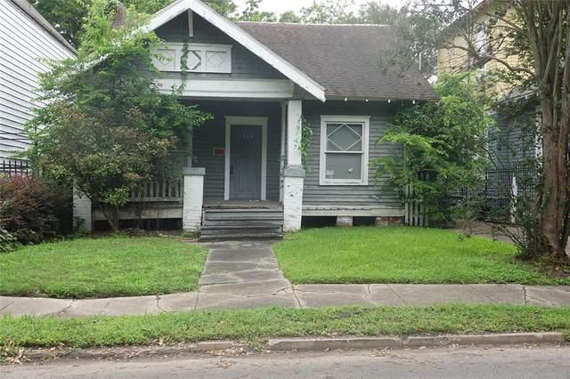 1224 W Drew Street, Houston, TX 77006 (MLS #19425042) :: The SOLD by George Team
