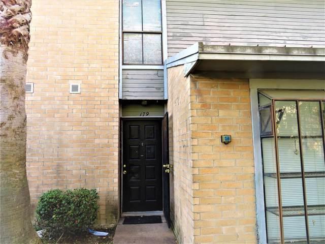 11000 Kinghurst Drive #179, Houston, TX 77099 (MLS #19551996) :: Giorgi Real Estate Group