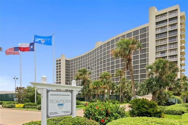 1401 E Beach Drive #1002, Galveston, TX 77550 (MLS #19793026) :: Rachel Lee Realtor