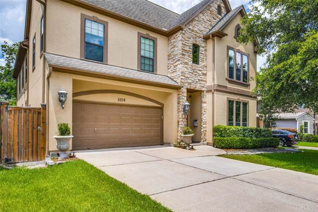 5218 Beech Street, Bellaire, TX 77401 (MLS #19804826) :: The Parodi Team at Realty Associates