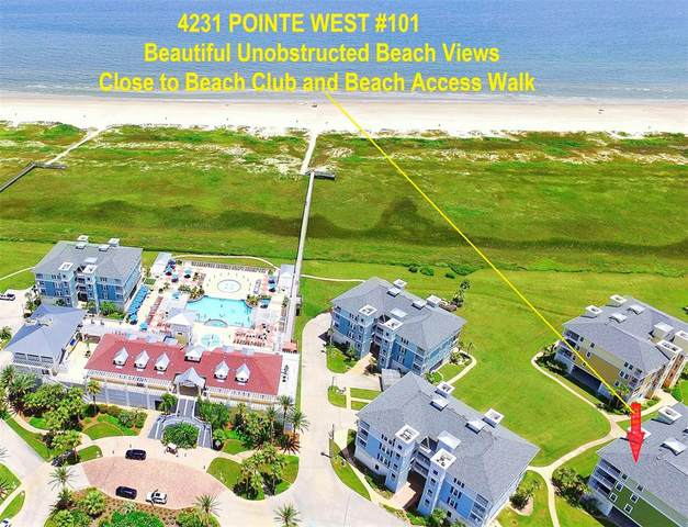 4231 Pointe West Drive #101, Galveston, TX 77554 (MLS #19945139) :: My BCS Home Real Estate Group
