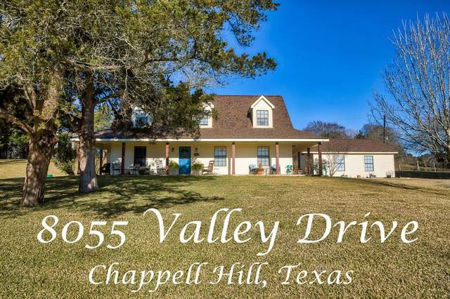 8055 Valley Drive, Chappell Hill, TX 77426 (MLS #20157973) :: The Property Guys