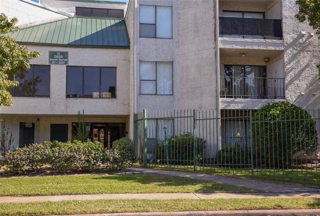 2832 S Bartell Drive #38, Houston, TX 77054 (MLS #20230649) :: Green Residential