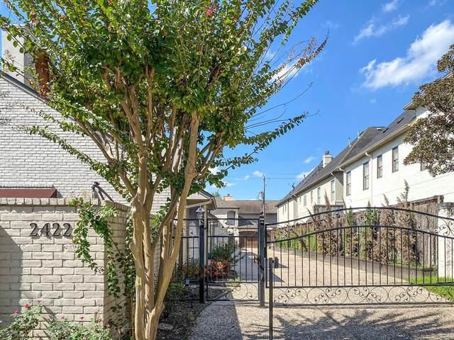 2422 Nantucket Drive B, Houston, TX 77057 (MLS #20254519) :: Caskey Realty