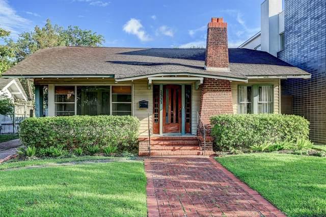 1533 Harold Street, Houston, TX 77006 (MLS #20426449) :: Caskey Realty