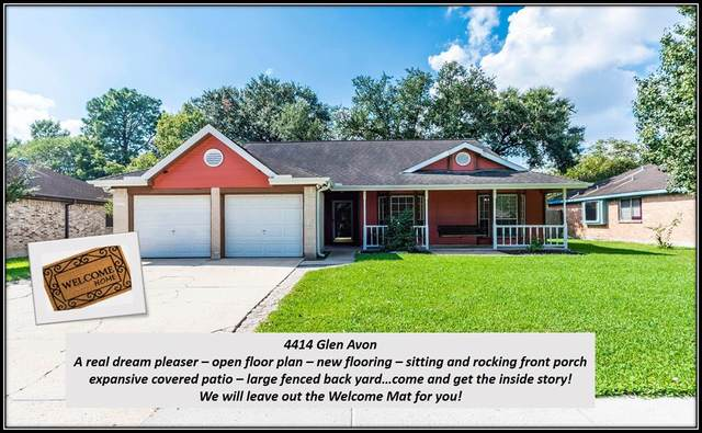 4414 Glen Avon Drive, Pasadena, TX 77505 (MLS #20457199) :: The Freund Group