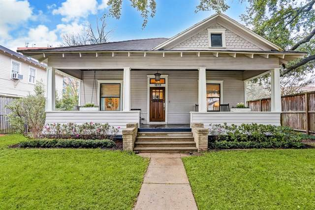 1849 Harvard Street, Houston, TX 77008 (MLS #20925689) :: The Bly Team