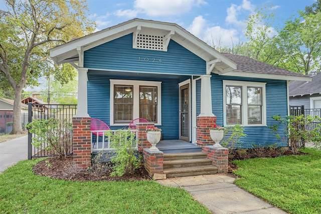 1024 Algregg Street, Houston, TX 77009 (MLS #21012168) :: The Sansone Group