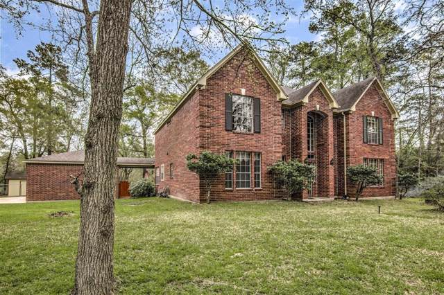 16302 Old Coach Road, Stagecoach, TX 77355 (MLS #21096120) :: The Bly Team