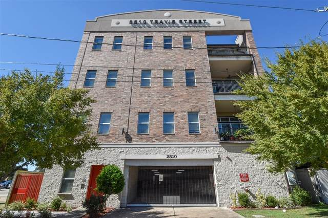 2510 Travis Street #105, Houston, TX 77006 (MLS #21168334) :: Christy Buck Team