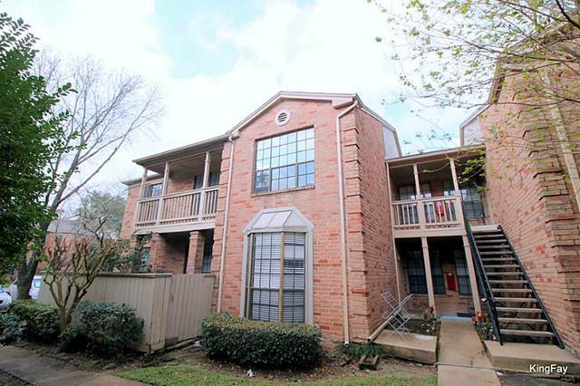 2255 Braeswood Park Drive #115, Houston, TX 77030 (MLS #21284847) :: Lerner Realty Solutions