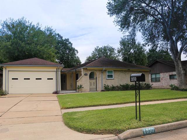 1850 Michele Drive, Sugar Land, TX 77498 (MLS #21321304) :: The Heyl Group at Keller Williams