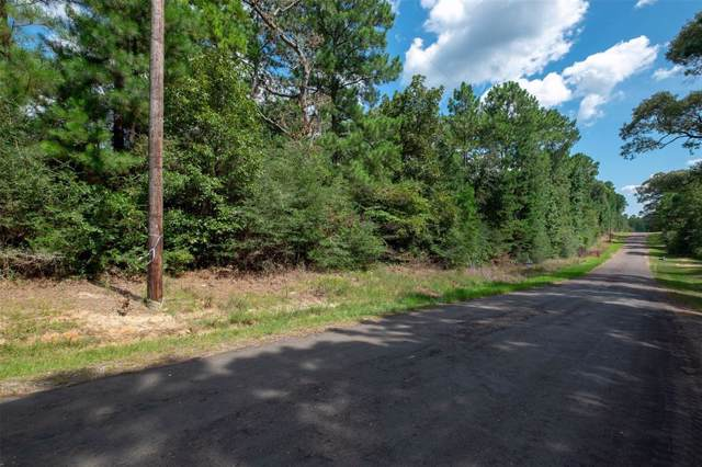 tbd County Road 3240, Colmesneil, TX 75938 (MLS #21613568) :: JL Realty Team at Coldwell Banker, United