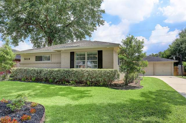 5419 Lymbar Drive, Houston, TX 77096 (MLS #21663603) :: The Bly Team