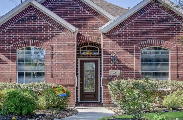 23 Fillgrove Place, The Woodlands, TX 77382 (MLS #22152806) :: Texas Home Shop Realty