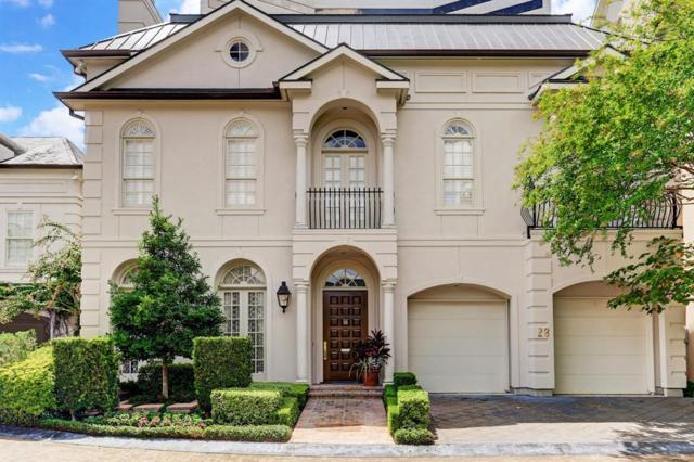 28 Eaton Square, Houston, TX 77027 (MLS #22166556) :: Fairwater Westmont Real Estate