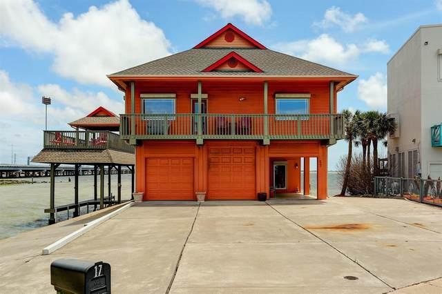 17 Tiki Circle, Tiki Island, TX 77554 (MLS #22390500) :: Michele Harmon Team