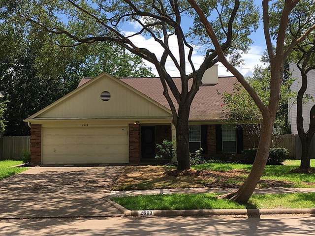 2603 Woodstream Boulevard, Sugar Land, TX 77479 (MLS #22461838) :: The Jennifer Wauhob Team