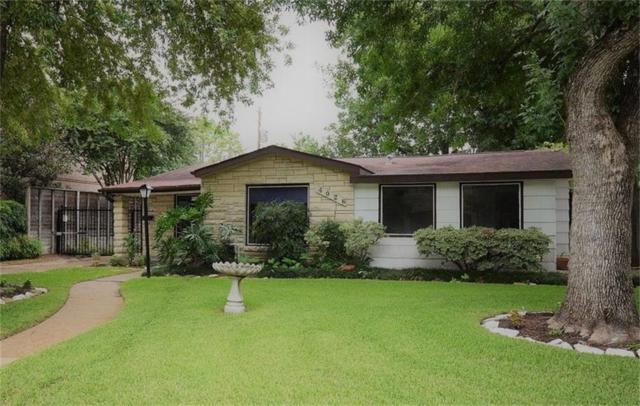 4026 Underwood Street, Houston, TX 77025 (MLS #22491775) :: NewHomePrograms.com LLC
