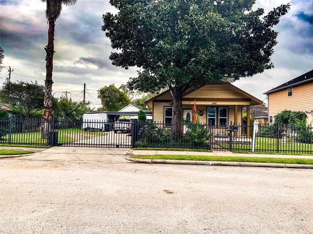 906 Walton Street, Houston, TX 77009 (MLS #22581075) :: CORE Realty