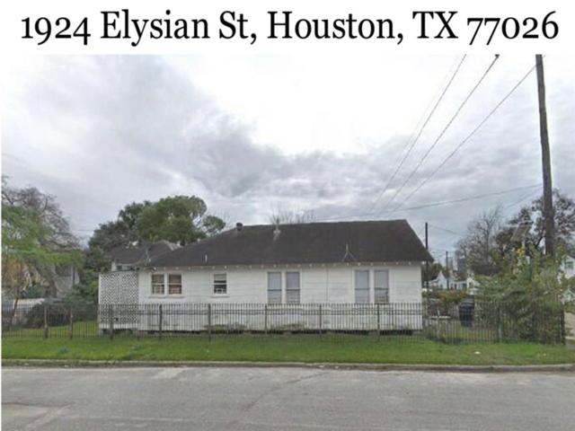 1924 Elysian Street, Houston, TX 77026 (MLS #22661693) :: The Heyl Group at Keller Williams