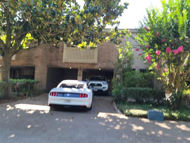 9400 Doliver Drive #33, Houston, TX 77063 (MLS #22784945) :: Texas Home Shop Realty