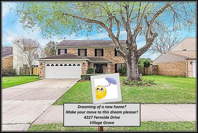 4227 Fernside Drive, Pasadena, TX 77505 (MLS #22830295) :: The Jill Smith Team