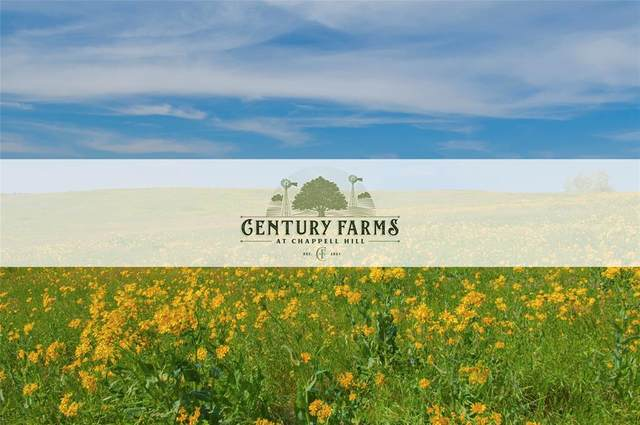 Lot 11 Century Farms, Chappell Hill, TX 77426 (MLS #22886316) :: My BCS Home Real Estate Group