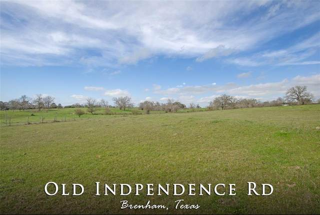 0 Old Independence Road, Brenham, TX 77833 (MLS #22967761) :: Bray Real Estate Group