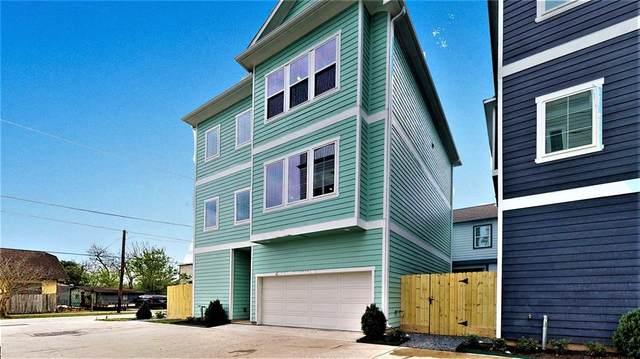 204 Burr Street F, Houston, TX 77011 (MLS #23146957) :: Caskey Realty