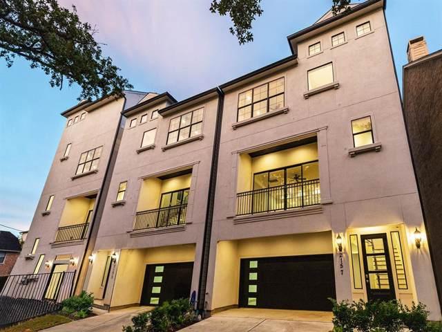 2157 Yupon Street, Houston, TX 77006 (MLS #23417966) :: Giorgi Real Estate Group