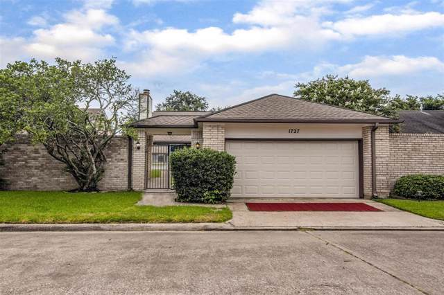 1727 Linfield Way, Houston, TX 77058 (MLS #23574728) :: Texas Home Shop Realty