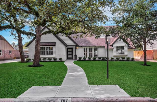 707 Langwood Drive, Houston, TX 77079 (MLS #23605754) :: Texas Home Shop Realty
