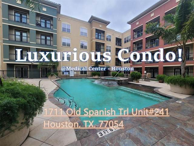 1711 Old Spanish Trail #241, Houston, TX 77054 (MLS #23610430) :: The SOLD by George Team